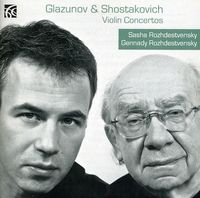 A. GLAZUNOV - Violin Concertos
