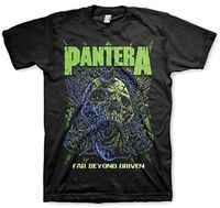 Pantera - Pantera Far Beyond Driven Black Unisex Short Sleeve T-shirt Medium