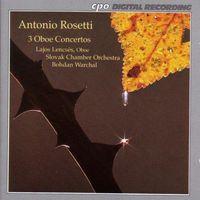 LAJOS LENCSES - Oboe Concerti