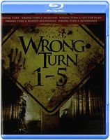 Wrong Turn [Movie] - Wrong Turn 1-5
