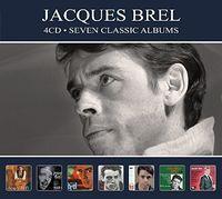 Jacques Brel - 7 Classic Albums [Digipak] (Ger)