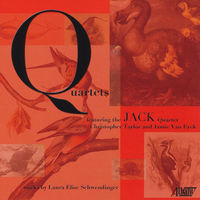 JACK Quartet - Laura Schwendinger: Quartets