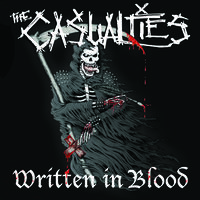 The Casualties - Written In Blood [Limited Edition Red LP]