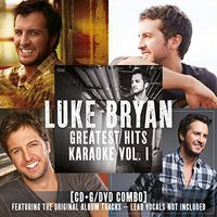 Luke Bryan - Greatest Hits Karaoke Vol. 1 [CD+G/DVD Combo]