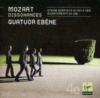 Quatuor Ebene - Mozart: String Quartets