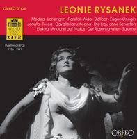 LEONIE RYSANEK - Recital