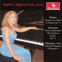 Sophia Agranovich - Works For Pno