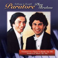 Anthony & Joseph Paratore - Variations On A Theme By Haydn Op 56b
