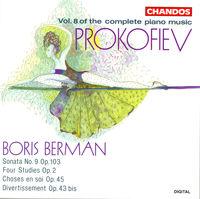 BORIS BERMAN - Piano Music 8