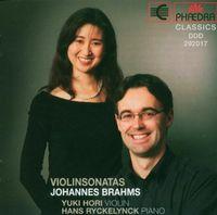 J. BRAHMS - Violin Sonatas