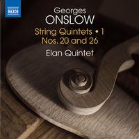 Onslow / Elan Quintet - Georges Onslow: String Quintets Vol 1