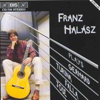 Franz Halasz - Turina: Complete Works For Solo Guitar