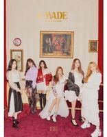 GI-Dle - I Made (2nd Mini Album) (Wb) (Phot) (Stic) (Asia)