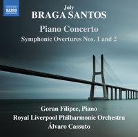 Santos - Piano Concerto / Symphonic Overtures 1 & 2