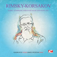 RIMSKY-KORSAKOV - Sadko Symphonic Poem Violin & Piano 5 [Remastered]