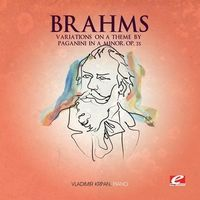 Brahms - Variations on a Theme By Paganini