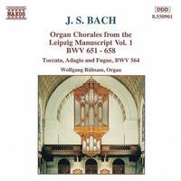J. RHEINBERGER - Organ Chorales From The Leipzig Manuscript 1