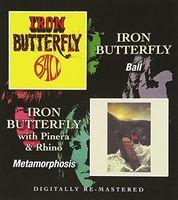 Iron Butterfly - Ball / Metamorphosis (Uk)