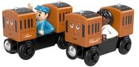 Thomas and Friends Wooden Railway - Fisher Price - Thomas and Friends Wooden Railway: Annie & Clarabel