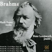 J. BRAHMS - Sonatas for Violin & Piano