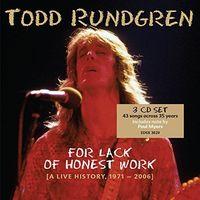 Todd Rundgren - For Lack Of Honest Work (Uk)