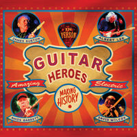 James Burton, Albert Lee, Amos Garrett & David Wilcox - Guitar Heroes