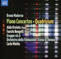 Aldo Orvieto - Piano Concerto / Quadrivium