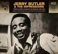 Jerry Butler - 3 Classic Albums Plus (Dlx) (Rmst) (Dig) (Ger)