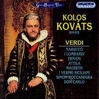Verdi - Kolos Kovats: Bass