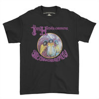 Jimi Hendrix - Jimi Hendrix Experience Are You Experienced Black Classic Heavy Cotton Style T-Shirt (3XL)