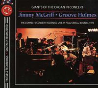 Jimmy Mcgriff - With Groove Holmes In Concert [Import]