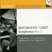 L.V. Beethoven - Idil Biret Beethoven Edition 9: Symphonies 3
