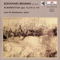 J. BRAHMS - Works for Piano