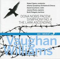 Robert Spano - Dona Nobis Pacem Sym 4 & The Lark Ascending