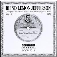Blind Lemon Jefferson - Vol. 3-(1928)