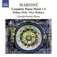 Giorgio Koukl - Complete Piano Works 5
