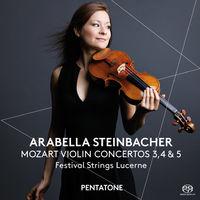 Mozart - Violin Cons 3 4 & 5 (Hybr)