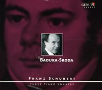 PAUL BADURA-SKODA - Three Piano Sonatas