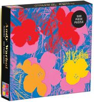 - Andy Warhol Flowers 500 Piece Puzzle