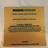 Merzbow - Merzbient