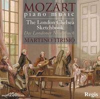 W.A. Mozart - London Chelsea Sketchbook