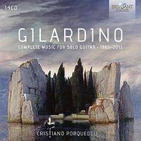 Cristiano Porqueddu - Complete Music for Solo Guitar (1965-2013)