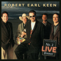 Robert Earl Keen - No. 2 Live Dinner [Limited Edition Salmon 2LP]