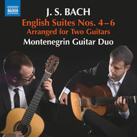 J Bach S - English Suites