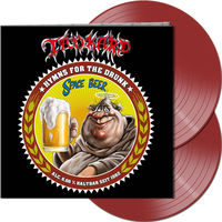 Tankard - Hymns For The Drunk [Clear Vinyl] (Gate) [Limited Edition] (Red)