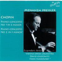 Menahem Pressler - Chopin Piano Ctos. No.1-2