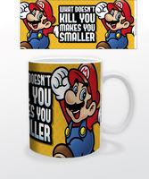 Super Mario Makes You Smaller 11 Oz Mug - Super Mario Makes You Smaller 11 oz mug