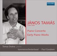 Tomas Dratva - Piano Concerto / Early Piano Works