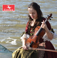 Kinga Augustyn - 12 Fantasies for Solo Violin