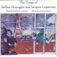 Honegger/Leguerney - Songs Of Honegger & Leguerney